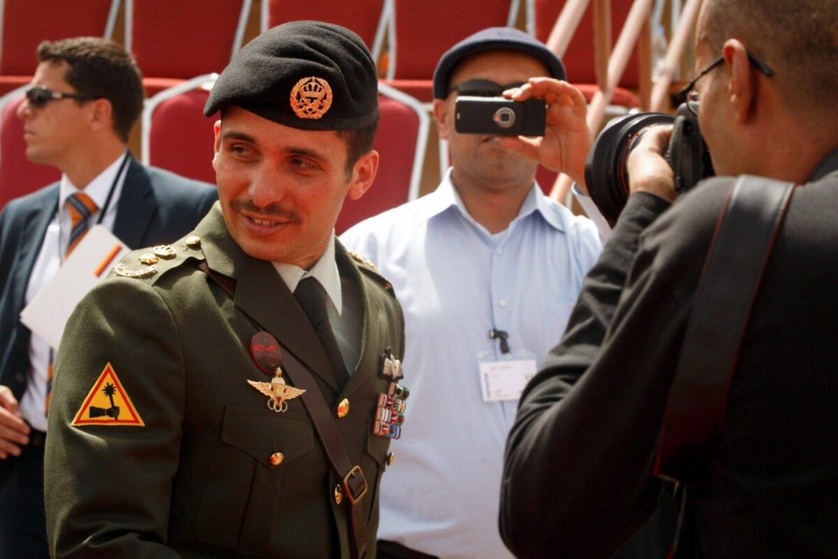 Jordanian Prince Hamzah Bin al-Hussein on 11 May 2010 in Amman, Jordan [Salah Malkawi/Getty Images]