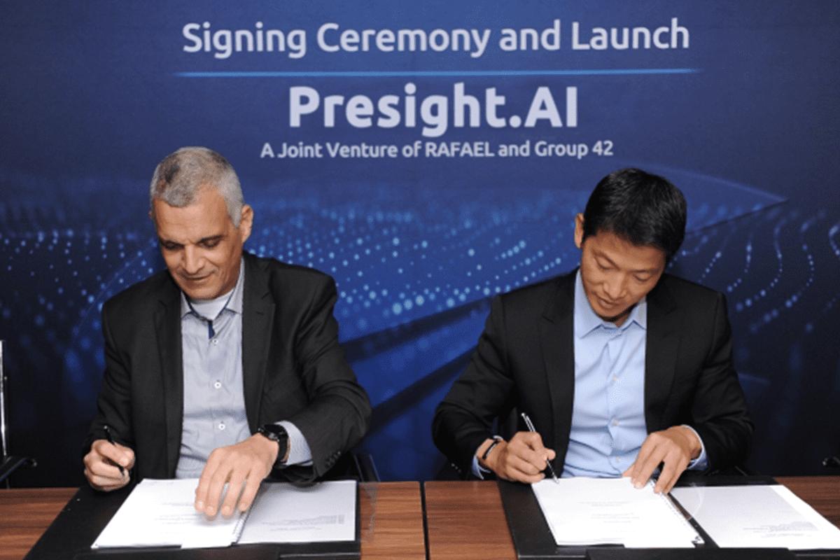 Rafael, UAE's Group 42 form joint venture for development of AI, big data tech [@ID_Cybertech/Twitter]