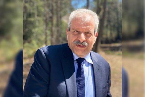 President of the Palestinian Union in Latin America Samaan Safadi Khoury, 17 April 2021 [Monitor Do Oriente Médio]