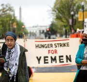 US activists on hunger strike over support for Yemen war