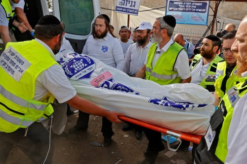 Dozens crushed to death at Israeli religious festival