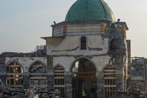 thumbnail Egyptian architects to reconstruct historic Mosul mosque