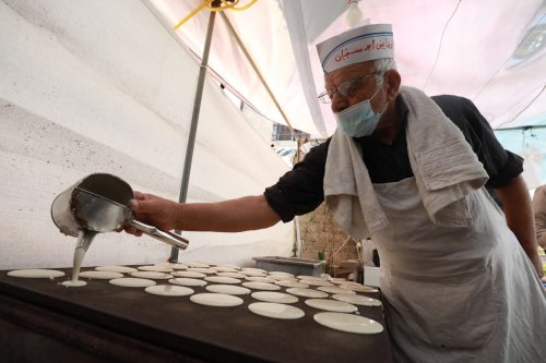 Thumbnail - Meet Ramallah's oldest qatayef seller