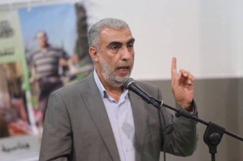 The deputy head of the Islamic movement in Israel, Sheikh Kamal al-Khatib [image: Palestine Information Center]