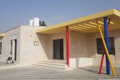 A school by the American Near East Refugee Aid (ANERA) created to help Palestinian refugees