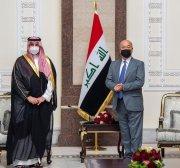 Saudi deputy DM minister arrives in Baghdad