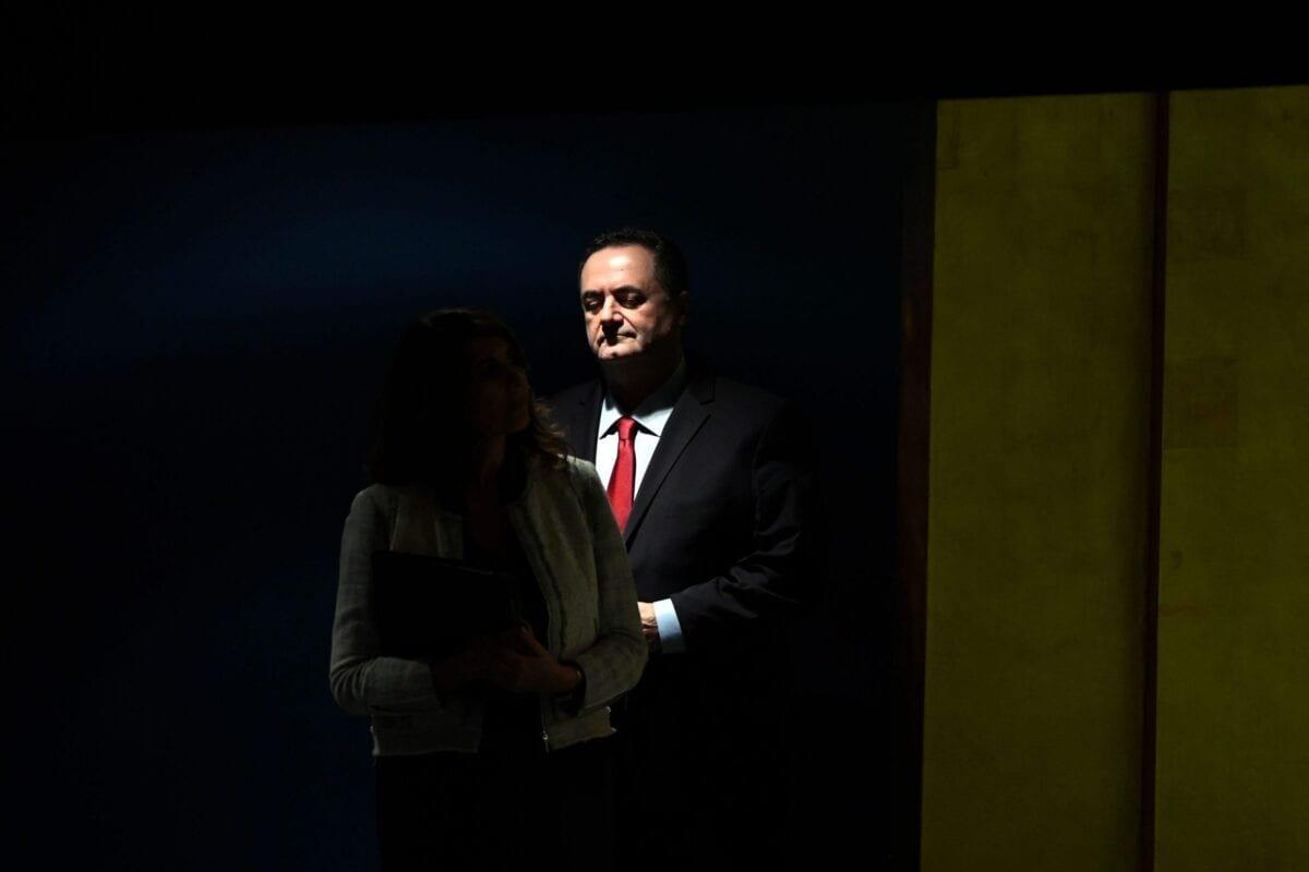 Israel's Foreign Minister Yisrael Katz on September 26, 2019 [JOHANNES EISELE/AFP via Getty Images]