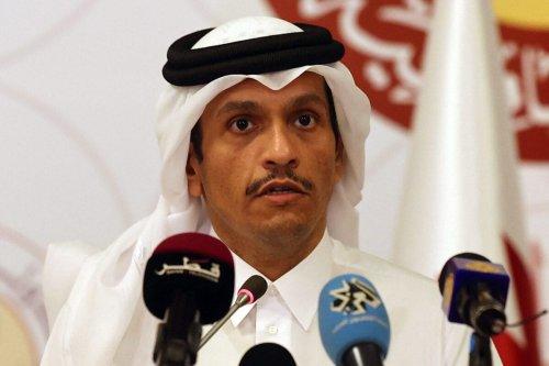 Qatari Foreign Minister Sheikh Mohammed bin Abdulrahman Al-Thani, on March 11, 2021 in Doha [KARIM JAAFAR/AFP via Getty Images]
