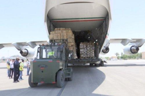 Aid given by Kuwait to Gaza, 28 May 2021 [KUNA]