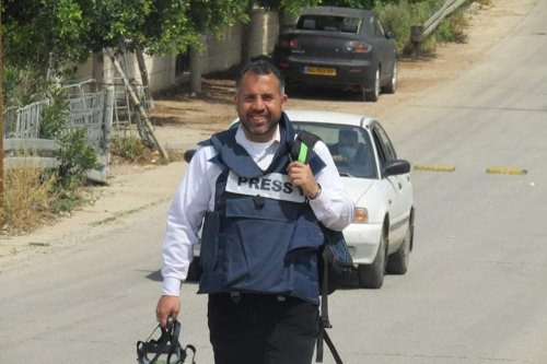 Palestinian journalist Alaa Al-Rimawi [ala2.remawi/Facebook]