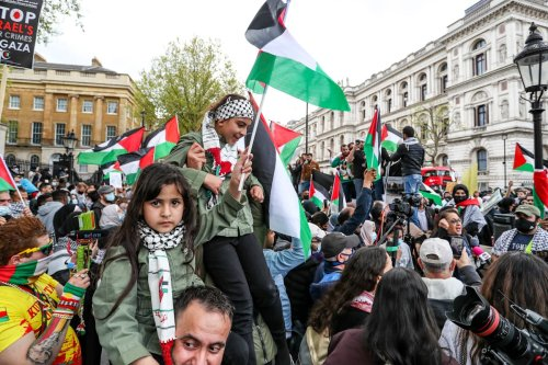 Thumbnail - London stands with Sheikh Jarrah