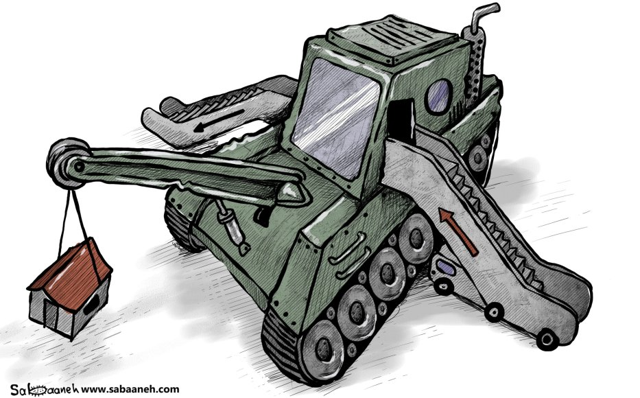 Israel's new government: nothing is going to change - Cartoon [Sabaaneh/MiddleEastMonitor]