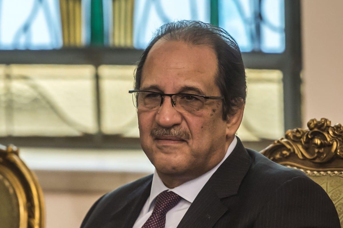 Egyptian intelligence chief, Abbas Kamel on 20 January 2018 [KHALED DESOUKI/AFP/Getty Images]