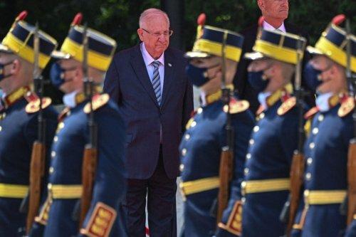 Israeli President Reuven Rivlin on June 8, 2021 [DANIEL MIHAILESCU/AFP via Getty Images]