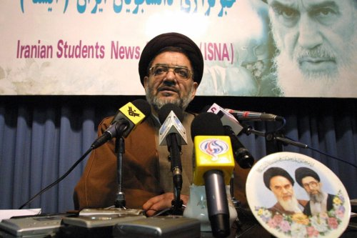 Iranian Ali Akbar Mohtashamipur in Tehran 15 February 2004 [HENGHAMEH FAHIMI/AFP via Getty Images]