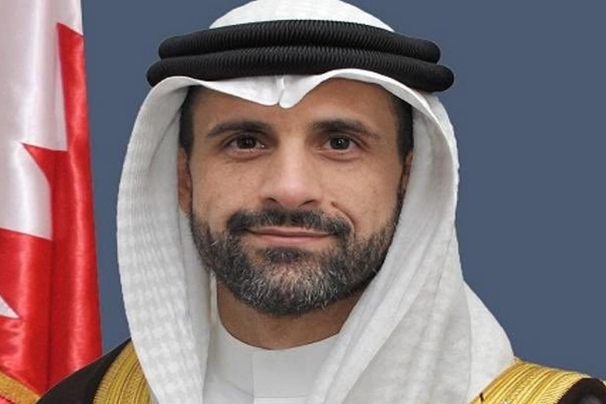 Khaled Yousef Al-Jalahmah, Bahrain's envoy to Israel [IsraelinBahrain/Twitter]
