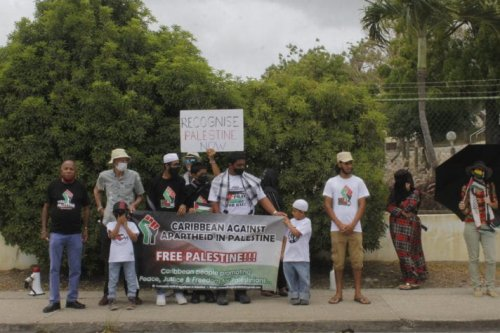 The Caribbean Against Apartheid in Palestine (CAAP) continued its condemnation of Israel's occupation of Palestine [barbadostoday.bb]