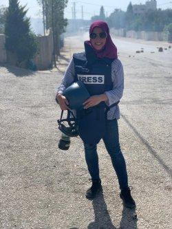 Palestinian journalist Shatha Hammad [Shatha Hammad]