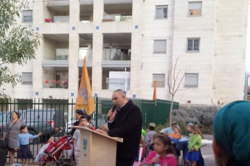The Israeli Mayor of Lod city, Yair Revivo [Wikipedia]