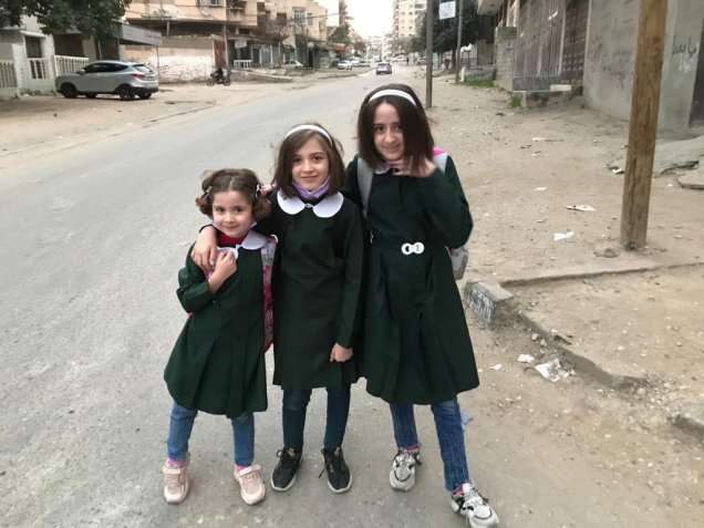 Jihan Qunoo's three daughters didn't have their mother by their side during Israel's bombardment of Gaza in May 2021