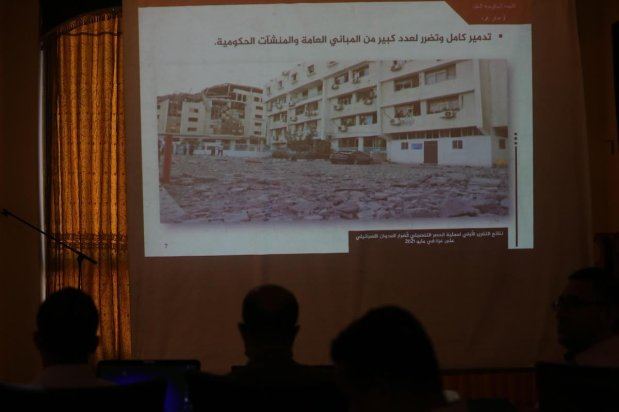 Gaza suffered $479 million worth of damages during Israel's 11-day bombardment of the enclave in May, the Palestinian Ministry of Housing in Gaza said on 13 July 2021 [Mohammed Asad/Middle East Monitor]