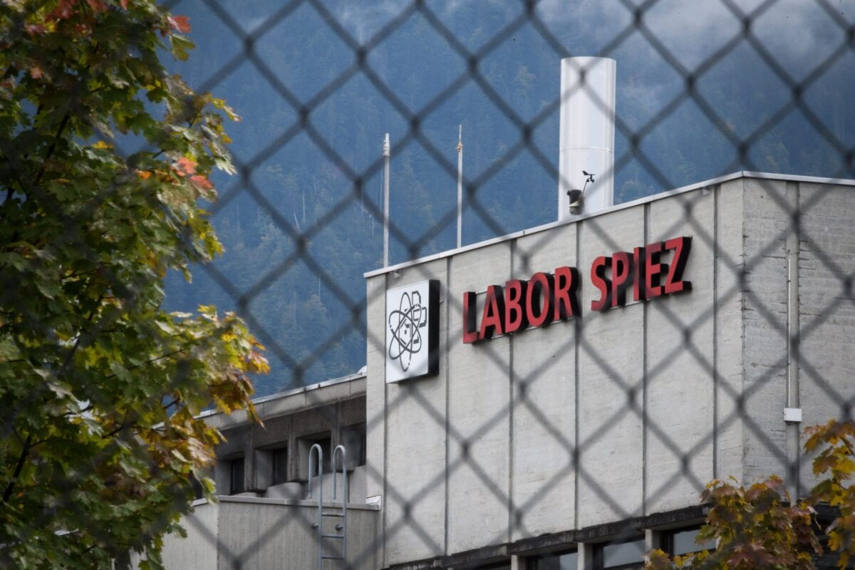 This picture taken on September 14, 2018 shows the Spiez Laboratory, Swiss Federal Institute for NBC-Protection (nuclear, biological, chemical)his year. Spiez was analysing data related to poison gas attacks in Syria [FABRICE COFFRINI/AFP via Getty Images]