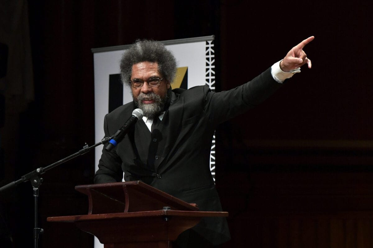Cornel West speaks at the 2019 Hutchins Center Honors W.E.B. Du Bois Medal Ceremony at Harvard University on October 22, 2019 in Cambridge, Massachusetts [Paul Marotta/Getty Images]