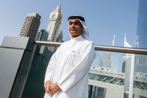 UAE human rights activist Ahmed Mansour, 25 September 2012 [Bloomberg]