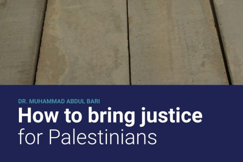 Cover How to bring justice for Palestinians