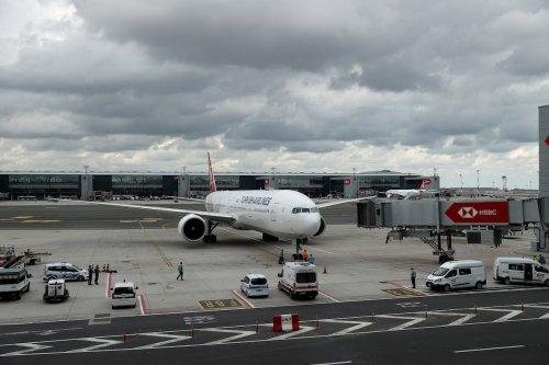 357 passengers, evacuated from Afghanistan' s capital Kabul, arrive to Istanbul, on August 22, 2021 in Istanbul, Turkey. [İsa Terli - Anadolu Agency]