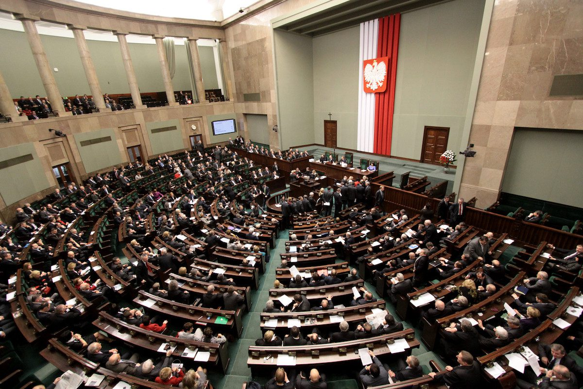 Polish parliament [Ministry of Foreign Affairs of the Republic of Poland/Flickr]