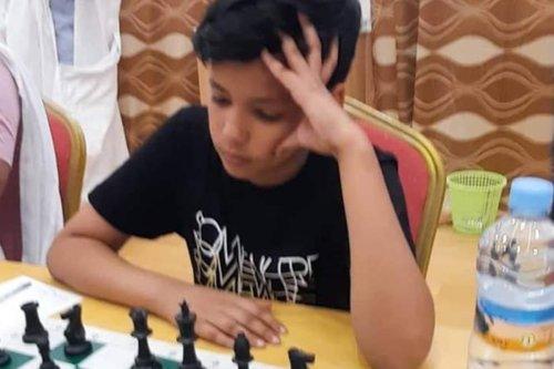 14-year-old Mauritanian chess player Abdel Rahim Al-Talib Muhammad