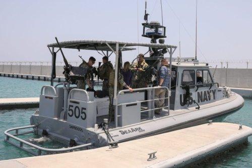 US Navy patrol boat [AFP via Getty Images]