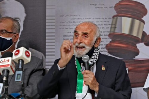 Munib al-Masri in the West Bank city of Nablus on October 22, 2020 [JAAFAR ASHTIYEH/AFP via Getty Images]