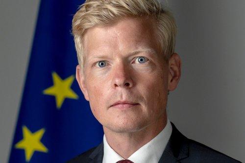 Swedish diplomat Hans Grundberg [EUinYemen/Twitter]