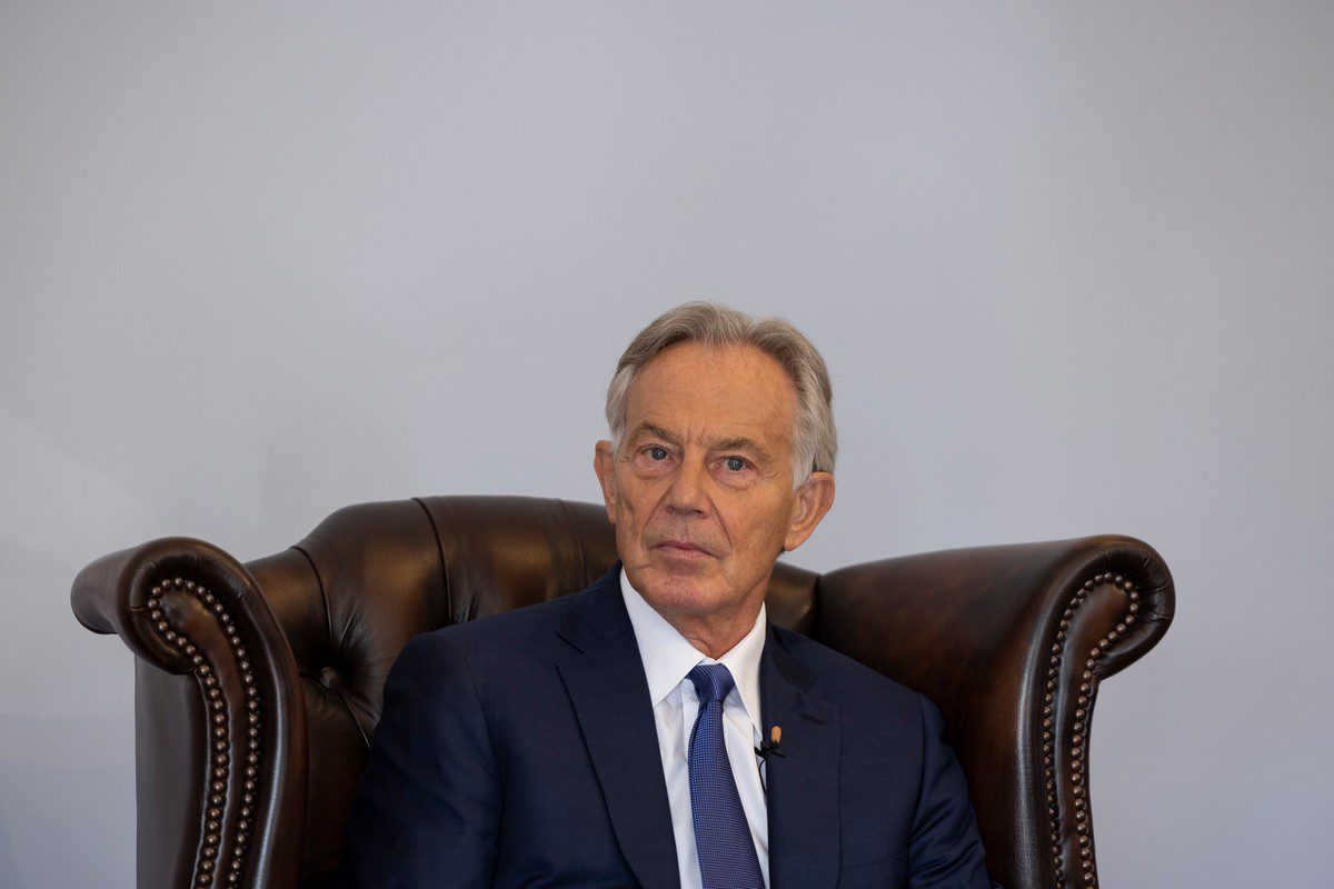 Former British Prime Minister Tony Blair in London, UK on 6 September 2021 [Dan Kitwood/Getty Images]