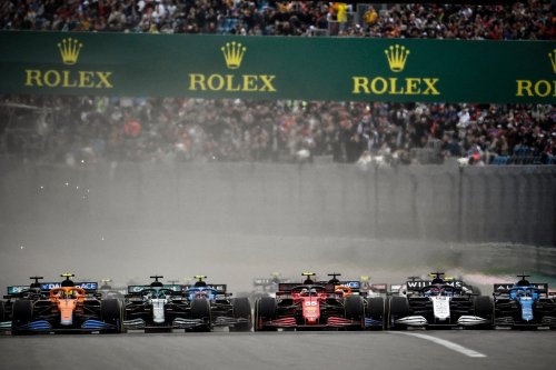 Drivers at the Formula One Russian Grand Prix at the Sochi Autodrom 26 September 2021 [ALEXANDER NEMENOV/AFP/Getty Images]