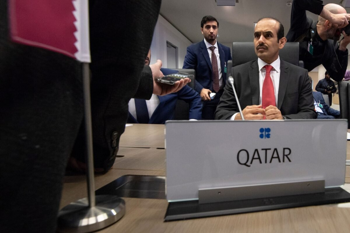 Qatar's Minister of State for energy affairs Saad Sherida Al-Kaabi attends the 175th OPEC Conference of Organization of the Petroleum Exporting Countries (OPEC) in Vienna, Austria on December 6, 2018 [JOE KLAMAR/AFP via Getty Images]