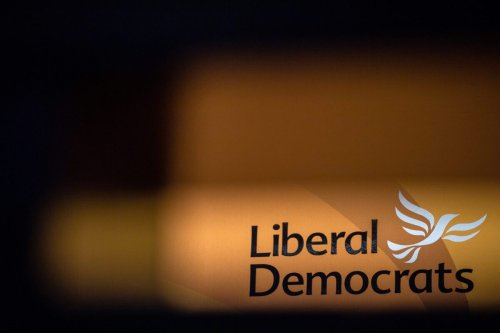 LONDON, ENGLAND - SEPTEMBER 19: A Liberal Democrat logo is seen at the partys online autumn conference on September 19, 2021 in London, England. The four-day event featured major speeches in Canary Wharf, but with votes and most other activities hosted online. (Photo by Chris J Ratcliffe/Getty Images,)