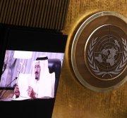 Saudi king tells UN kingdom supports efforts to prevent nuclear Iran