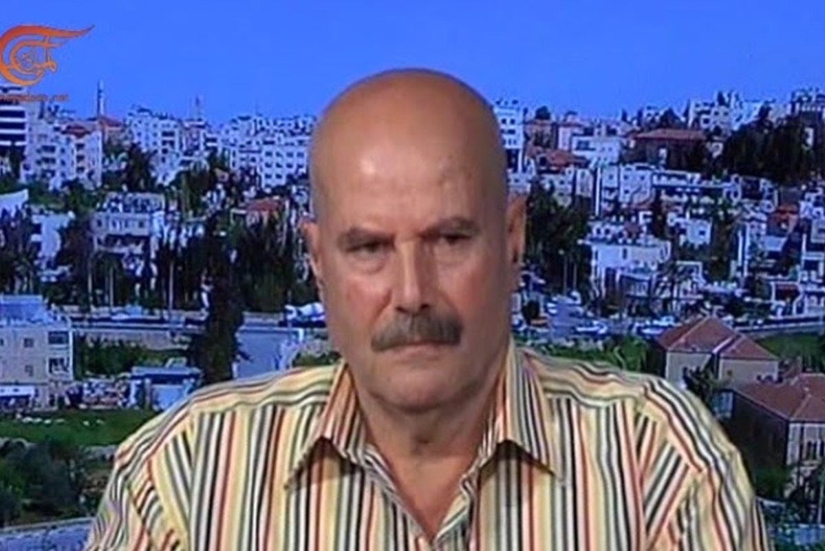 Palestinian writer Ahmed Qatamesh [Al Mayadeen Channel/Youtube]