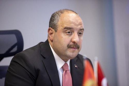 Turkish Industry and Technology Minister Mustafa Varank in Ankara, Turkey on 6 October 2021 [Aytaç Ünal/Anadolu Agency]
