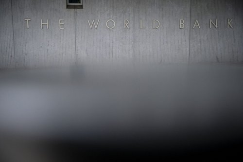 The World Bank Group headquarters in Washington, D.C., US, on Monday, October 11, 2021 [Al Drago/Bloomberg via Getty Image]