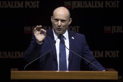 Israeli Prime Minister Naftali Bennett speaks in Jerusalem October 12, 2021 in Jerusalem [Amir Levy/Getty Images]