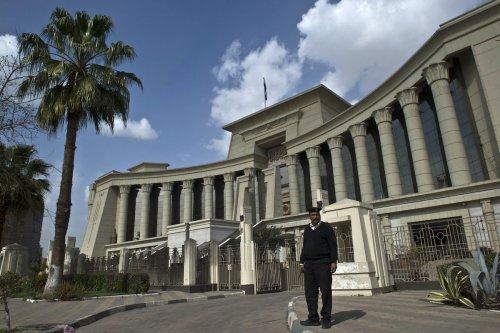 The Supreme Constitutional Court in Cairo on 25 February 2015 [KHALED DESOUKI/AFP via Getty Images]