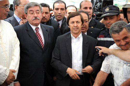 Said Bouteflika (C), advisor and brother of the late Algerian President, Abdelaziz Bouteflika on May 19, 2012, in Algiers, Algeria [FAROUK BATICHE/AFP/Getty Images]