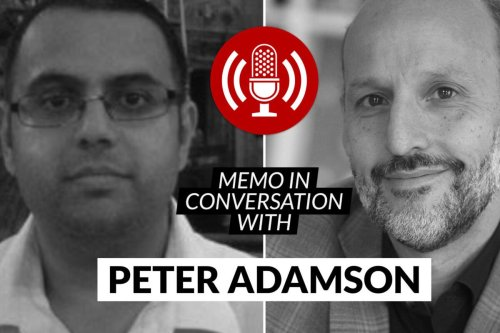 MEMO in conversation with Peter Adamson [MEMO]