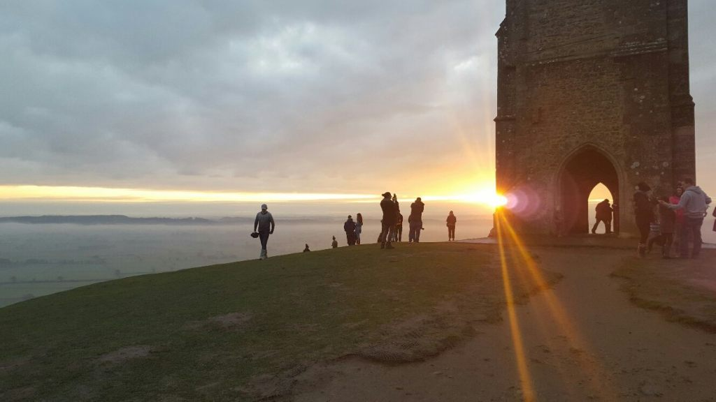 Glastonbury Tor-Valentine's Day