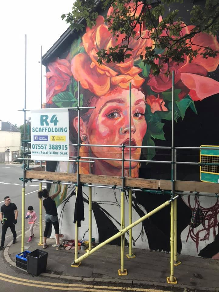 Middlewick Sponsored Mural