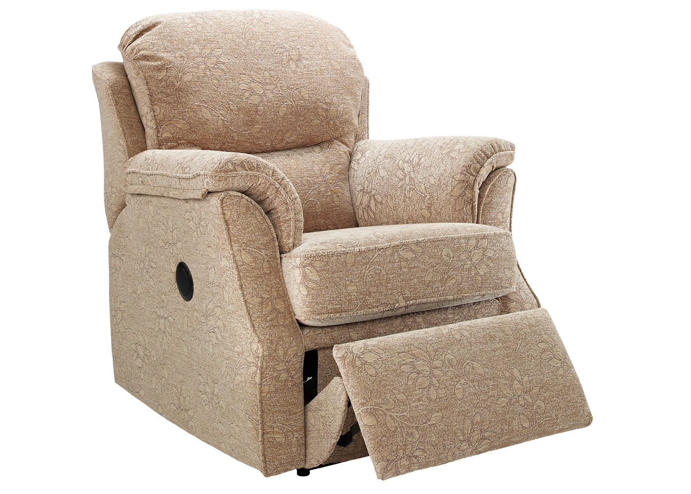 leather wing chair uk mongolian fur cover g plan florence recliner - midfurn furniture superstore